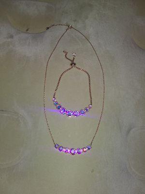 Necklace and bracelet for Sale in Wichita, KS