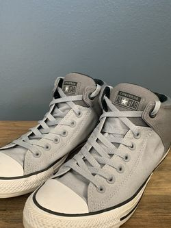 Men's Converse Chuck Taylors Mid Street Sneakers for Sale in Milwaukee,  WI