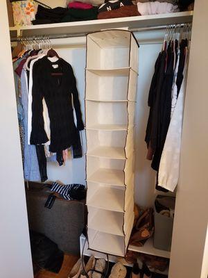 Hanging Closet Organizer like new for Sale in ROXBURY CROSSING, MA