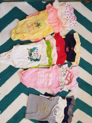 0-3 month baby girl bundle for Sale in Halsey, OR