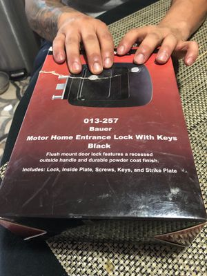 Entry door lock with keys Made by Bauer for Sale in Phoenix, AZ