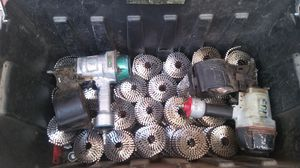 Roofing nails and nail guns. for Sale in Hesperia, CA