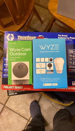 WYZE CAM outdoor & smart HOME starter kit for Sale in Bremerton, WA