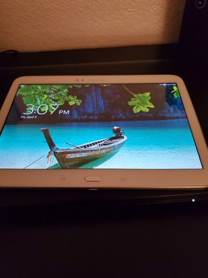 For sale Samsung Galaxy Tab 3 P5210 16GB, Wi-Fi 10.1in White Tablet $60 OBO for Sale in Las Vegas, NV