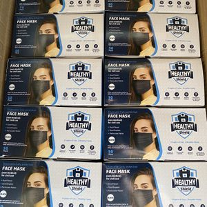 3Ply Black Face Mask for Sale in Downey, CA