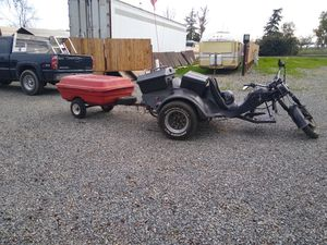 VW trike runs good ready to go.. bring cash and you can ride it home.. for Sale in Visalia, CA