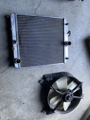92-95 Civic EG radiator and fan for Sale in Antioch, CA