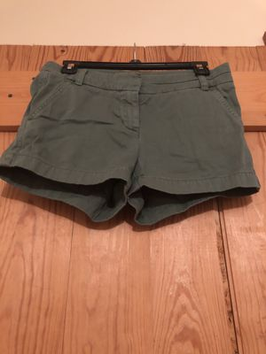 j crew green shorts for Sale in Knoxville, TN