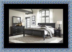 11pc Black Marley bedroom set for Sale in Bladensburg, MD