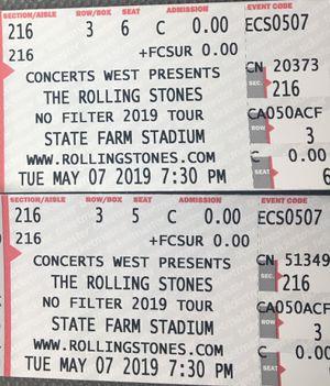 Rolling Stones Tickets for Sale in Phoenix, AZ