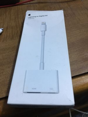 iPhone adapter for Sale in San Antonio, TX