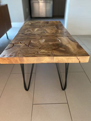 Coffee Table with Hairpin Legs for Sale in Las Vegas, NV