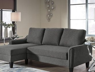 ♦️New Brand ▶️Jarreau Gray Sofa Chaise Sleeper 🌺 for Sale in College Park,  MD