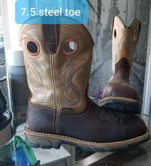 Red Wind Irish Settet Steel toe work boots for Sale in Long Beach, CA