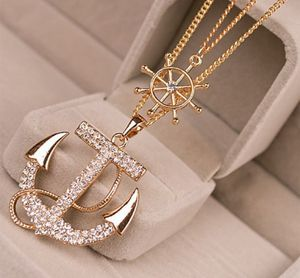 Beautiful gold color anchor ⚓double chain new for Sale in Port St. Lucie, FL