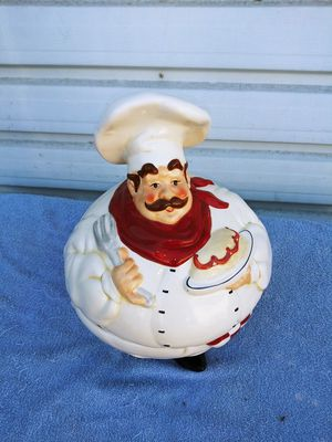 Collectible cookie jar chef type for Sale in Fresno, CA