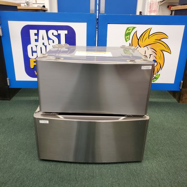 LG (WDP4V) Laundry Pedestal W/Storage Drawer (Pair)