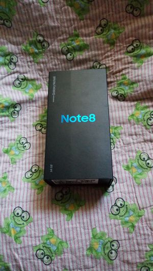CELL PHONE. BRAND NEW SAMSUNG GALAXY NOTE8 for Sale in Clovis, CA