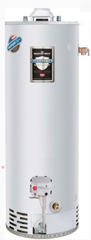 Bradford White 65 Gallon - 65,000 BTU Defender Extra Recovery Energy Saver Residential Water Heater (Nat Gas) for Sale in Ellicott City, MD