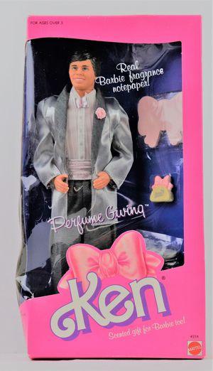 Vintage 1987 Perfume Giving Barbie Ken Doll for Sale in Oakland, CA