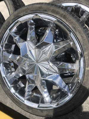 """20"""" Chrome Rims !!! Sold as is, been in storage for Sale in FL, US"""