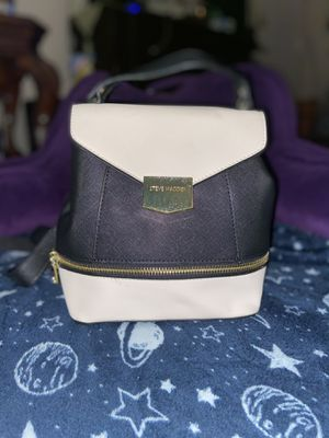 Steve Madden Black & White(cream) Backpack Handbag for Sale in Alexandria, VA