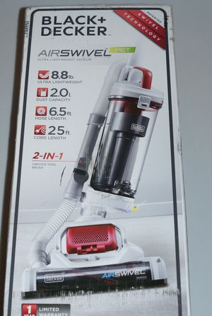 Black and Decker Airswivel Bagless Pet Vacuum 7 amps Standard for Sale in Los Angeles, CA