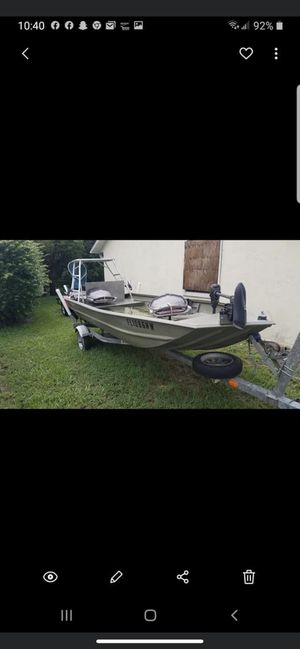 STOLEN Jon Boat from Port St John Brevard County. Please be on the look out!! for Sale in Cocoa, FL