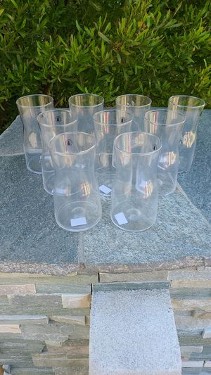 Lot of nine new Flower vases Ikea for Sale in Costa Mesa, CA