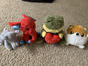 Assorted small stuffed animal toys for Sale in Beaverton, OR