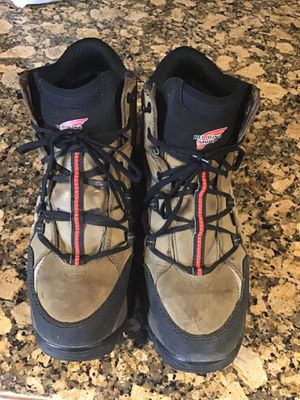 Red wings work boots waterproof steel toe very good condition size 10.5 for Sale in Riverside, CA