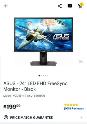 """24"""" New condition 75hz Gaming Monitor for Sale in Montgomery, AL"""