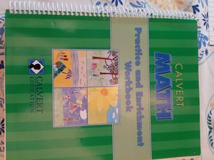 Calvert Math Practice and Enrichment Workbook 5th Grade for Sale in Orange, VA