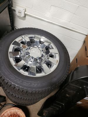Wrangler Tire Chrome Rims for Sale in Queens, NY