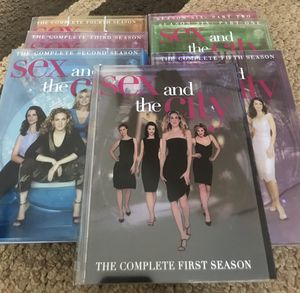 6 season Sex and the City DVD for Sale in Longwood, FL