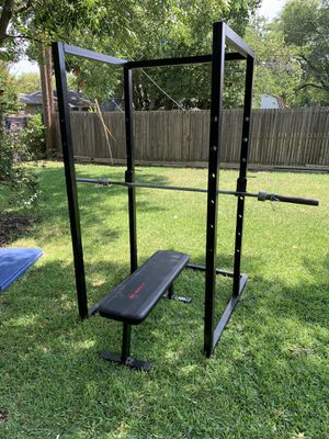 Rack,bench and bar for Sale in Arlington, TX