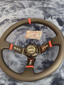 Sparco Steering Wheel for Sale in Bakersfield,  CA