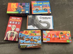 Kids puzzles and toys for Sale in Seattle, WA
