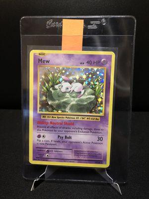 Mew 53/108 Holo Rare Pokemon XY Evolutions for Sale in Stockton, CA