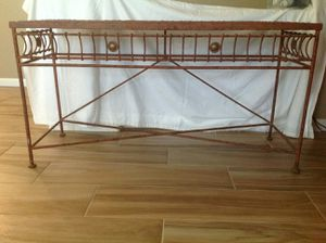 Metal Console table for Sale in Phoenix, AZ