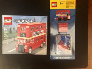 LEGO 40220 and 853914 limited editions combo package for Sale in Fremont, CA