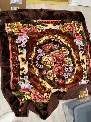 Flower blanket for Sale in Los Angeles, CA