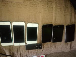 6 ipod touches. They all power on. for Sale in Sacramento, CA