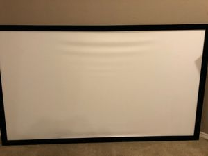 110 inch projection screen for Sale in McKinney, TX
