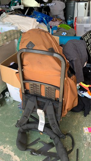 camping back pack w/ sleeping bag for Sale in San Diego, CA