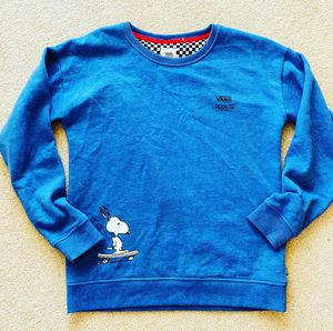 VANS peanut sweatshirt S size for Sale in Madison, WI