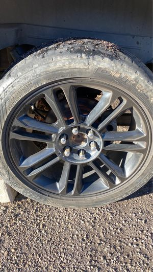 22inch black rims for Sale in Lakewood, CO