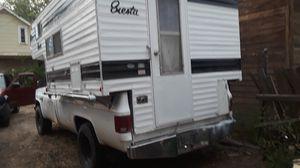 Siesta, slide in camper only, fits 8' bed for Sale in Pueblo, CO