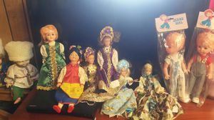 Antique Dolls from around the world for Sale in Santa Rosa, CA