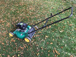 Weed eater brand Lawn Mower - excellent condition for Sale in Columbia, MD